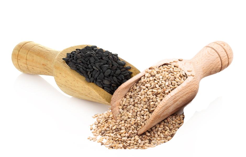 Toasted Natural Brown & Jet Black Sesame Mix