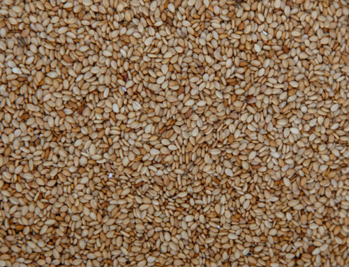 Toasted Natural Brown Sesame Seeds